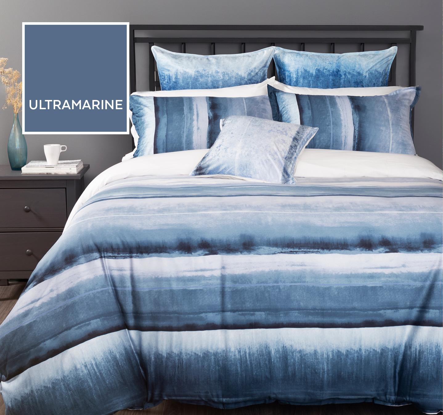 Ultramarine Blue Duvet Cover