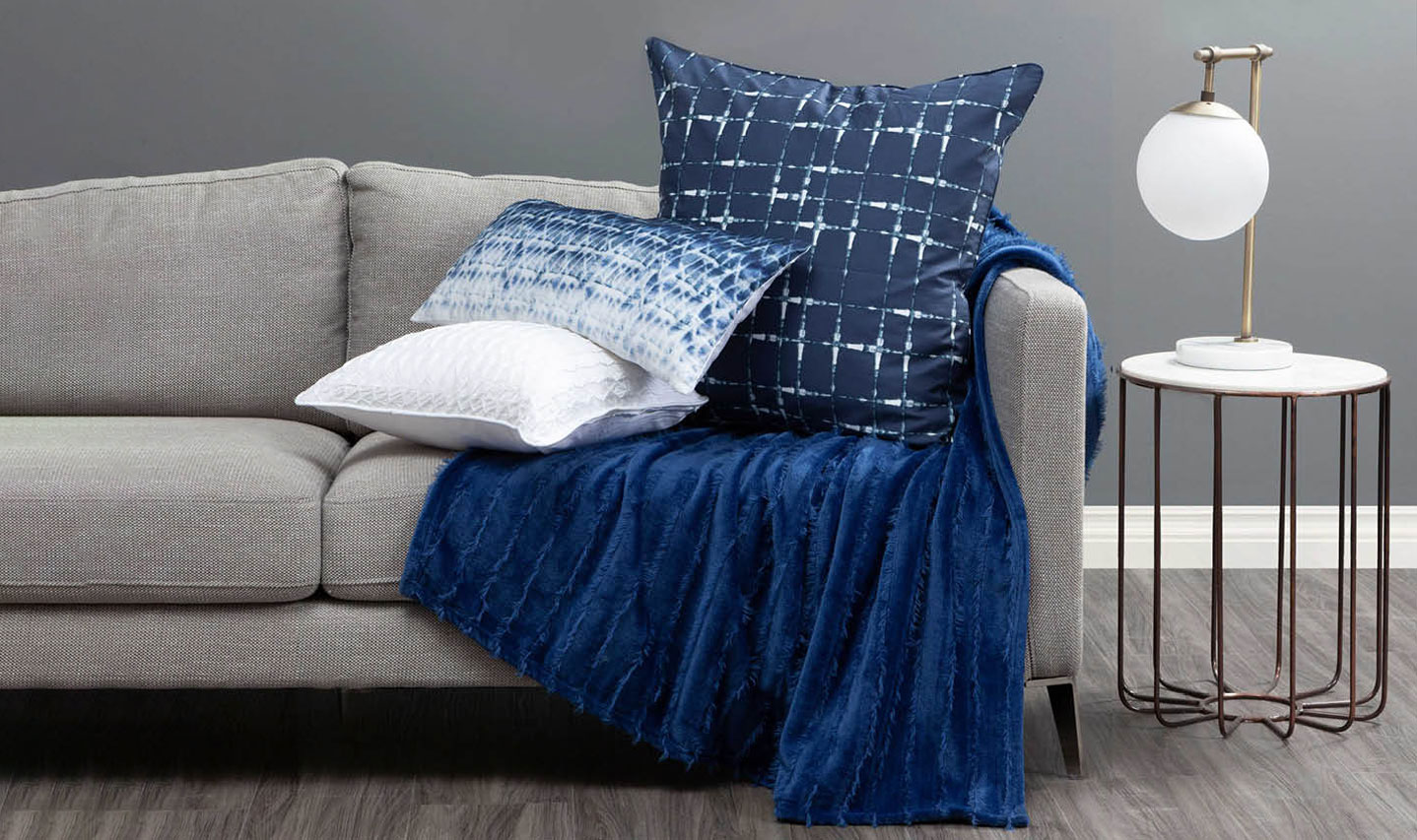 Blue Toned Mix of Decor Accessories